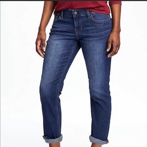 OLD NAVY Boyfriend Straight Leg Jeans